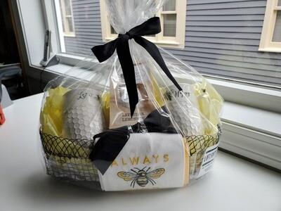 Bee Themed Gift Basket