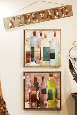 Artistic Modern Wine Canvas Wall Art