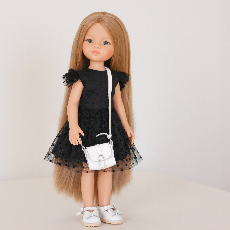 Маника-рапунцель в платье и туфлях + пижама