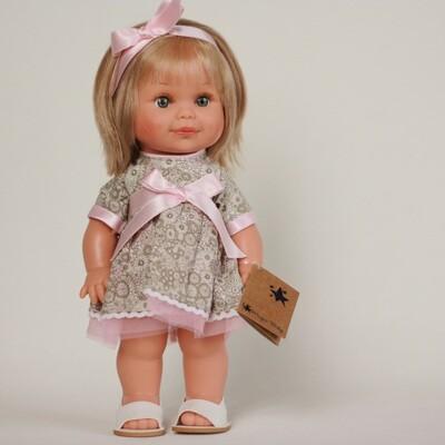 Бетти в розовом платье