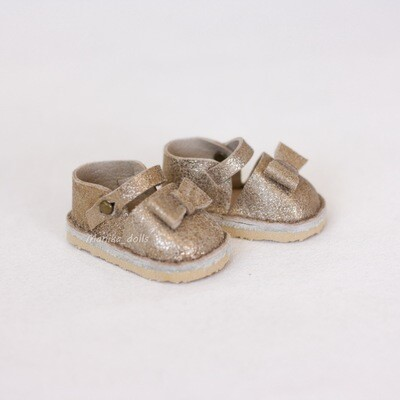 Туфли для кукол Paola Reina (золотистые)