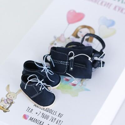 Ботинки и рюкзак для кукол Paola Reina