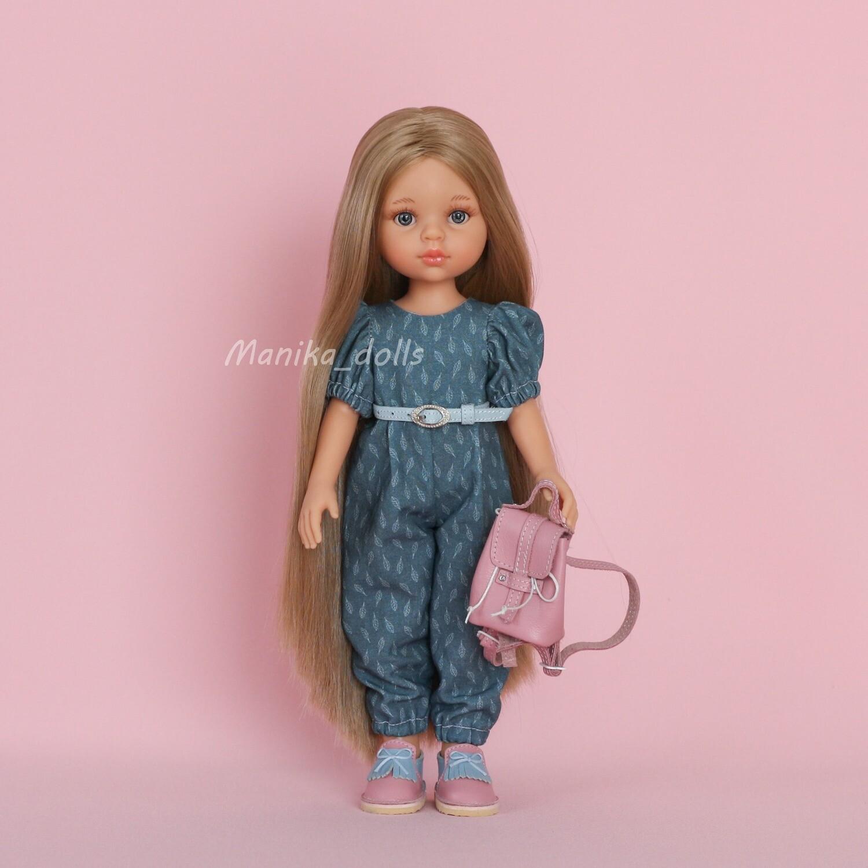 Карла Рапунцель в модном наряде + пижама