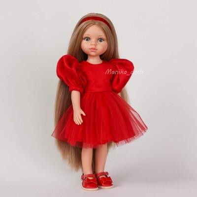 Карла Рапунцель в праздничном платье + пижама