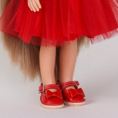 Туфли для кукол Paola Reina (красные)
