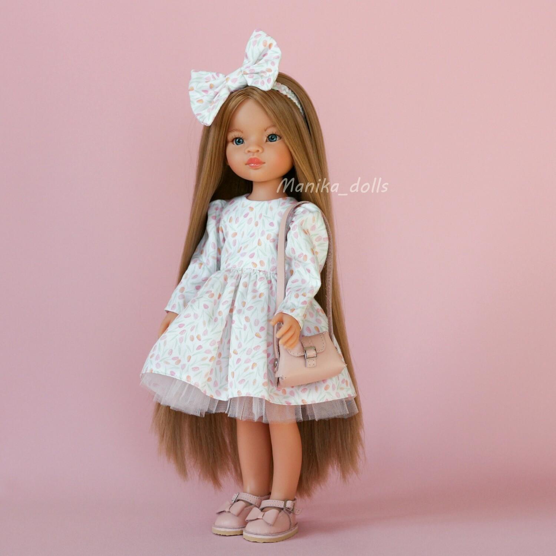 Маника рапунцель в платье и туфлях + пижама
