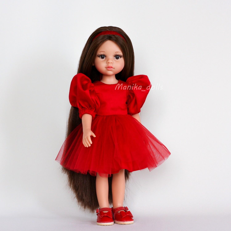Кэрол Рапунцель в нарядном платье + пижама