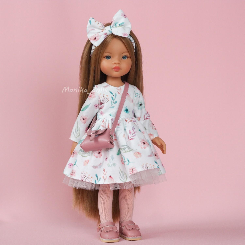Маника Рапунцель в нарядном платье + пижама