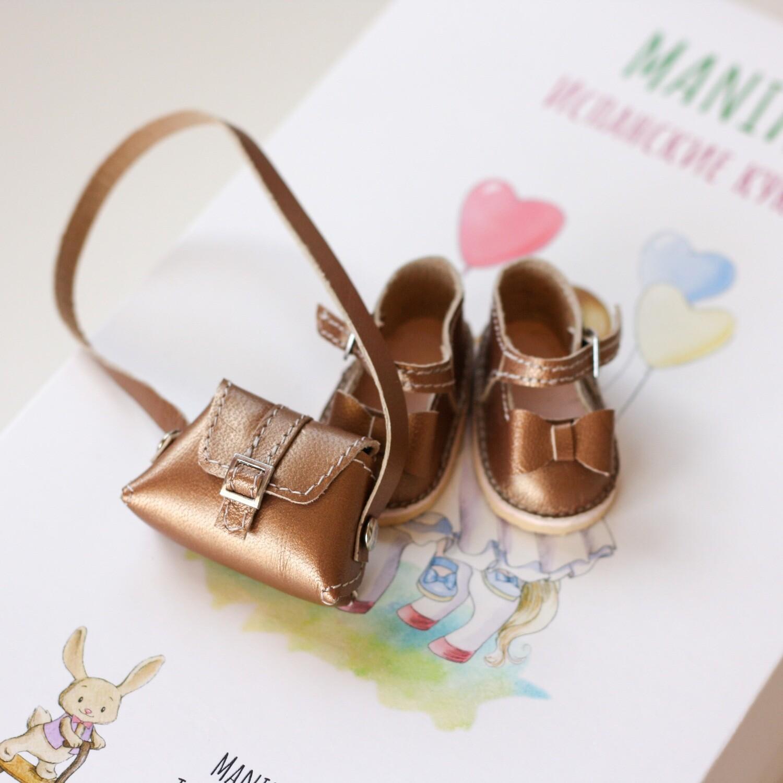 Туфли и сумка для кукол Paola Reina