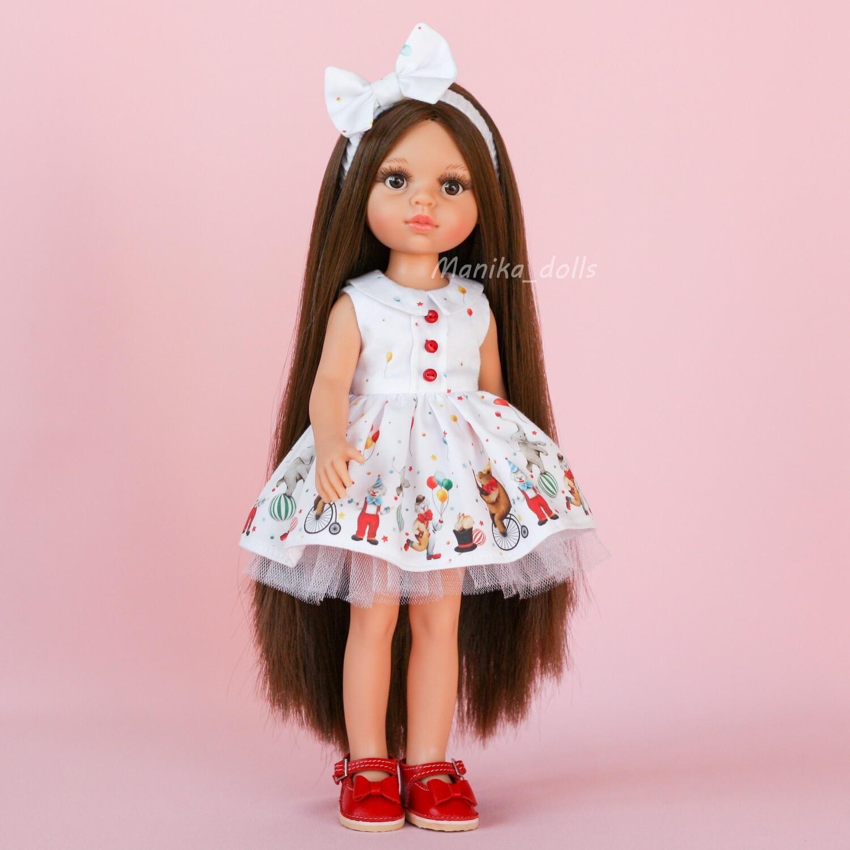 Кэрол Рапунцель в платье с бантиком и туфлях + пижама