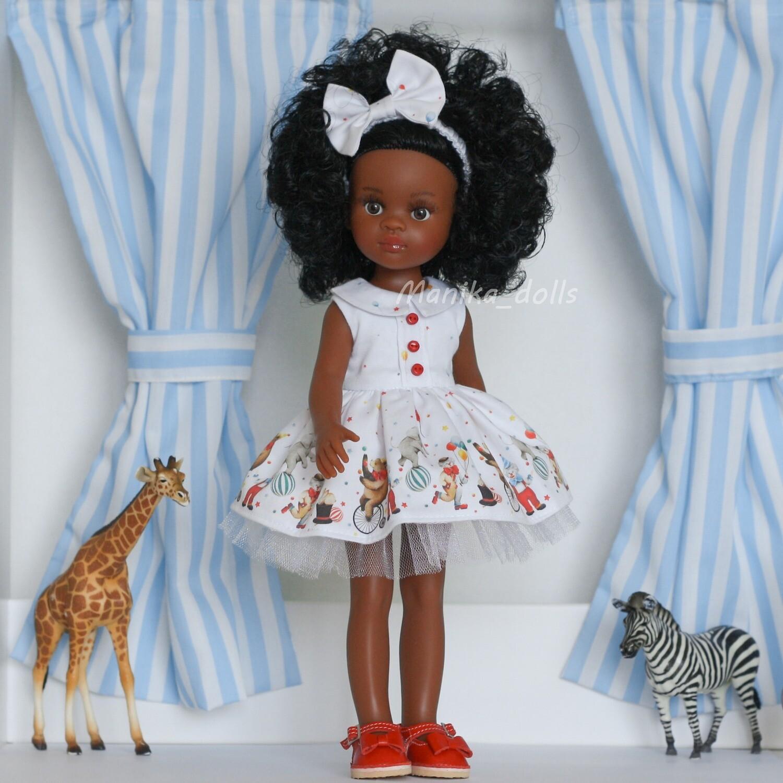 Нора в платье с бантиком и туфлях + пижама