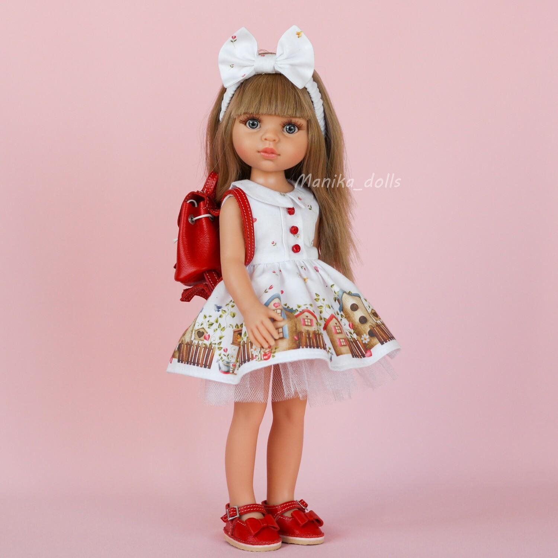 Карла в платье с бантиком и туфлях + пижама