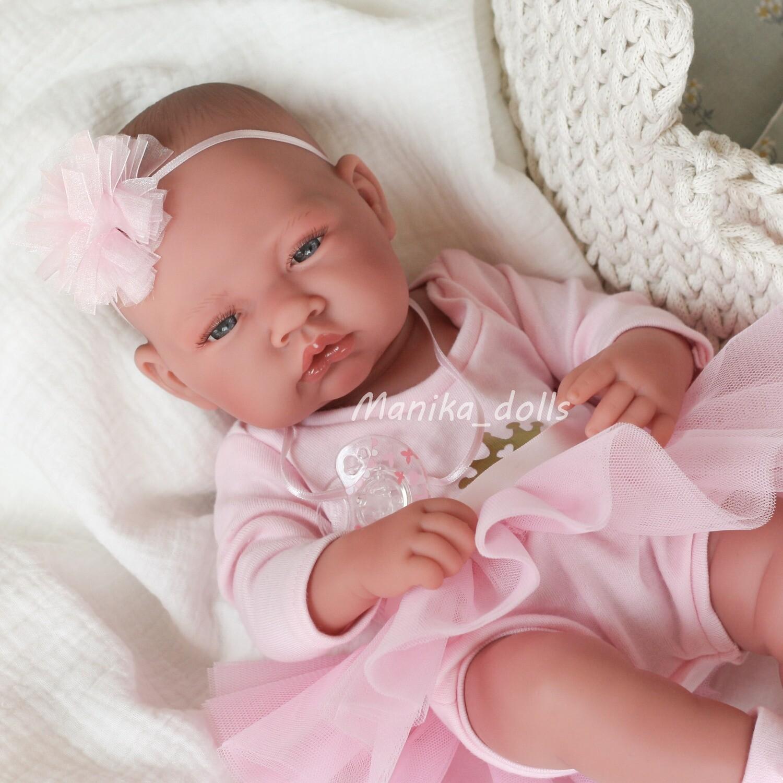 Новорожденная балерина 42 см