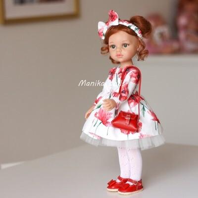 Кристи в нарядном платье