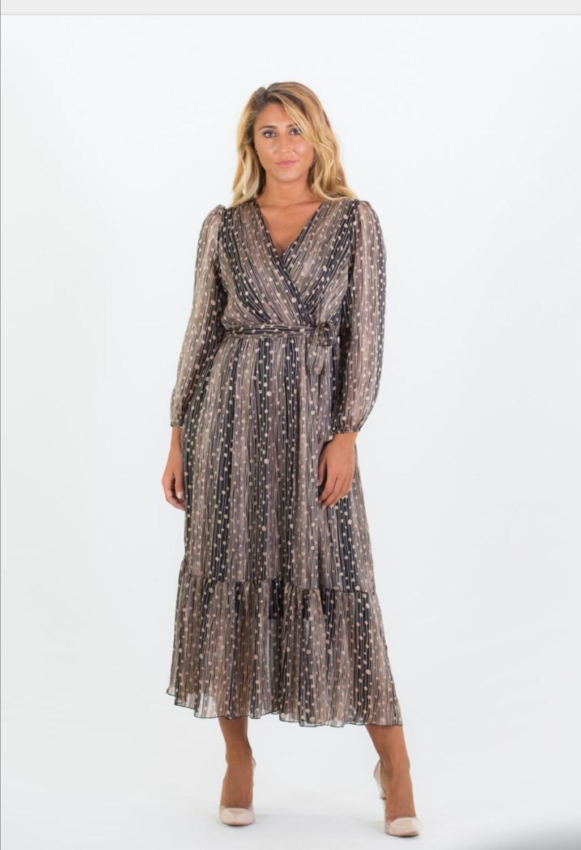 Boho Lurex Dress