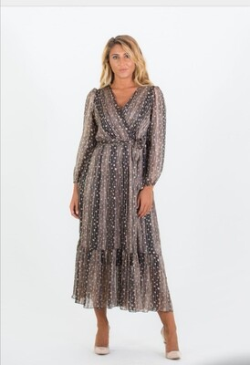 Boho Lurex Dress