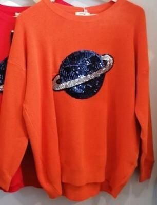 Planet Soft Knit Top