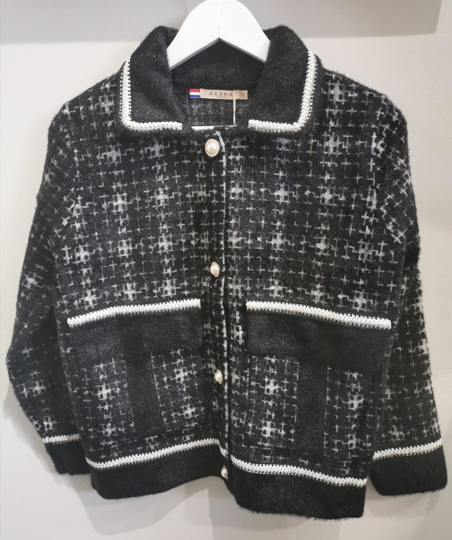 Knit Check Jacket