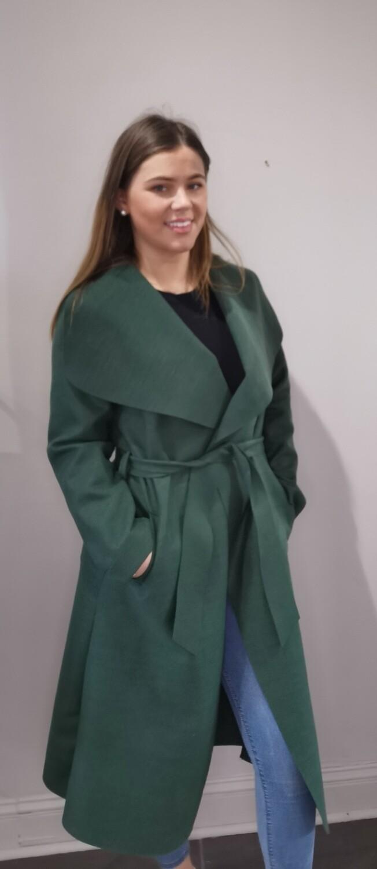Green Felt Coat