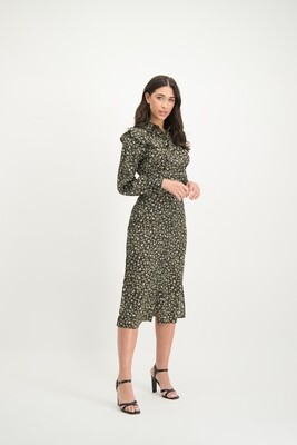 Lofty Manner Shirt Print Dress