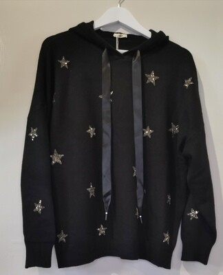 Star Knit Hoody