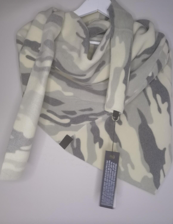 Henriette Steffensen Fleece Scarf Camouflage