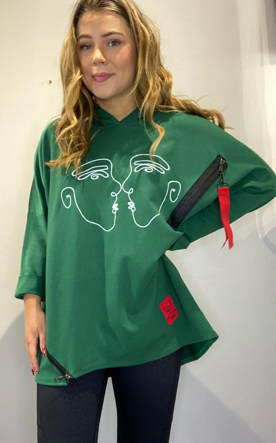 Faces Oversized Hoody