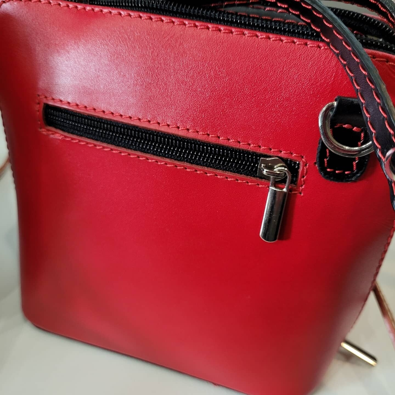 100% Leather Mini  Handbag