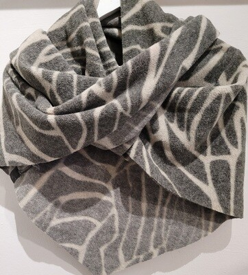Henrietta Steffensen Fleece Triangle Scarf