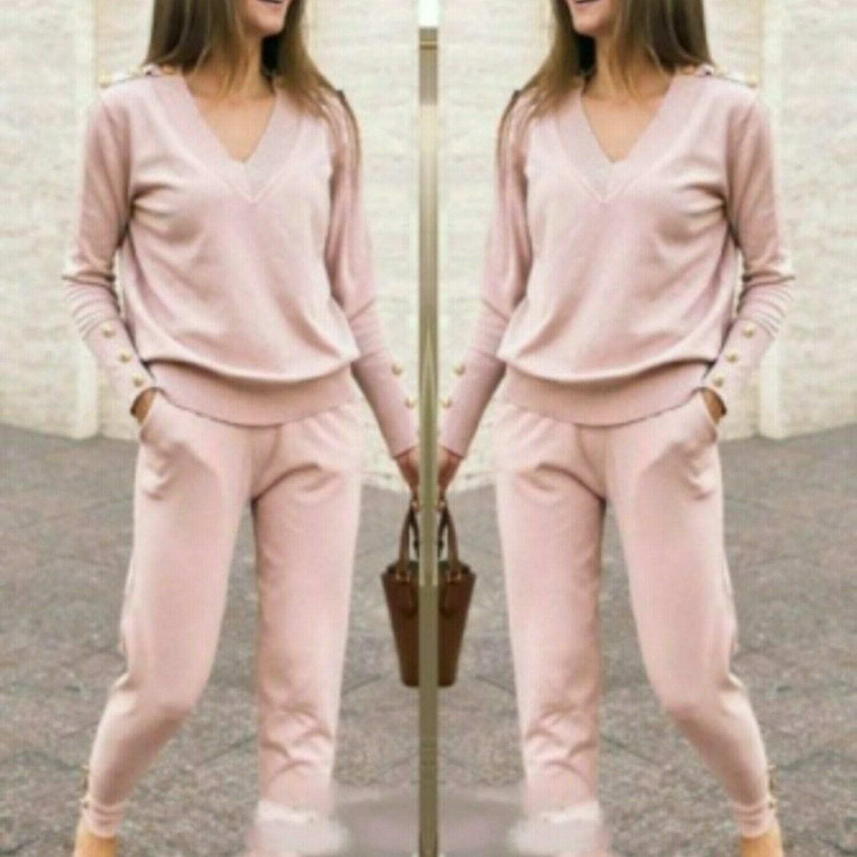 Leisure Wear, 2 pc Knit Trouser & Top