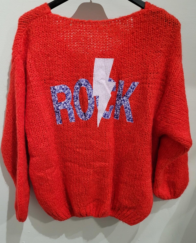 Rock Vneck Knit