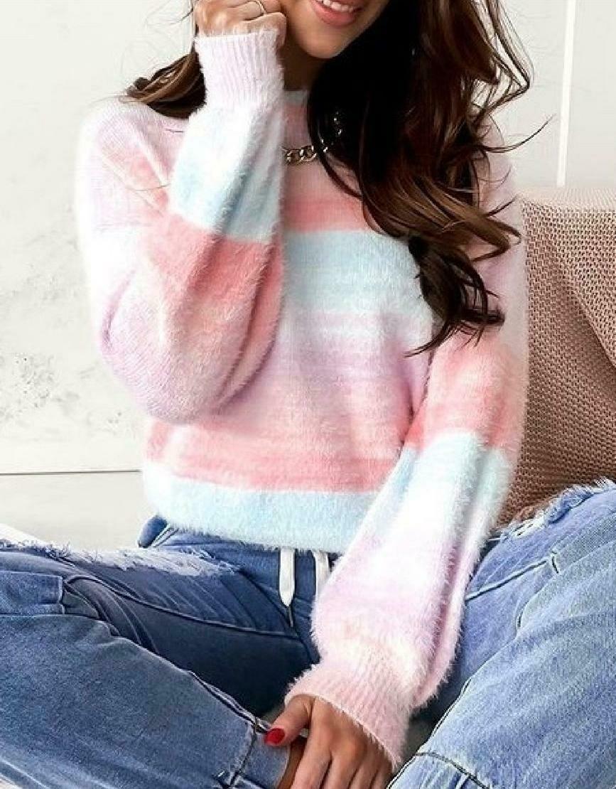 Pastel Colour Knit Top
