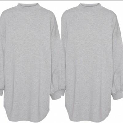 Olga Long Sweatshirt Top/Dress