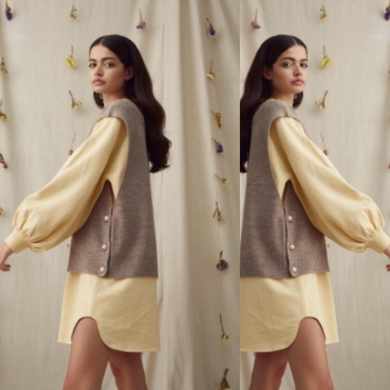 Ozilla knit vest top