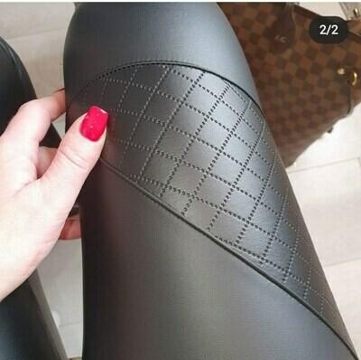 Quilted Style Vegan Leggings