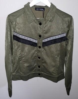 Gini Moleskin Fringes Jacket