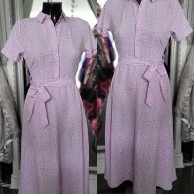 Lilac spot Dress