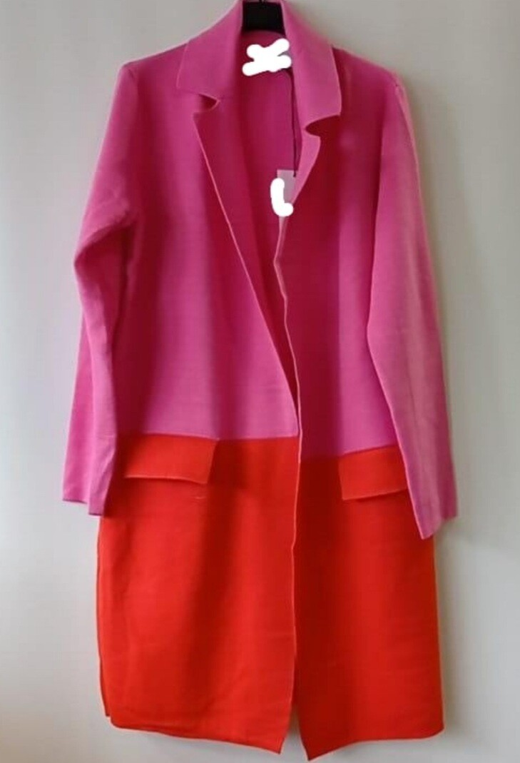 Two colour Cardigan