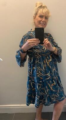 Swrill Pattern TIER Dress