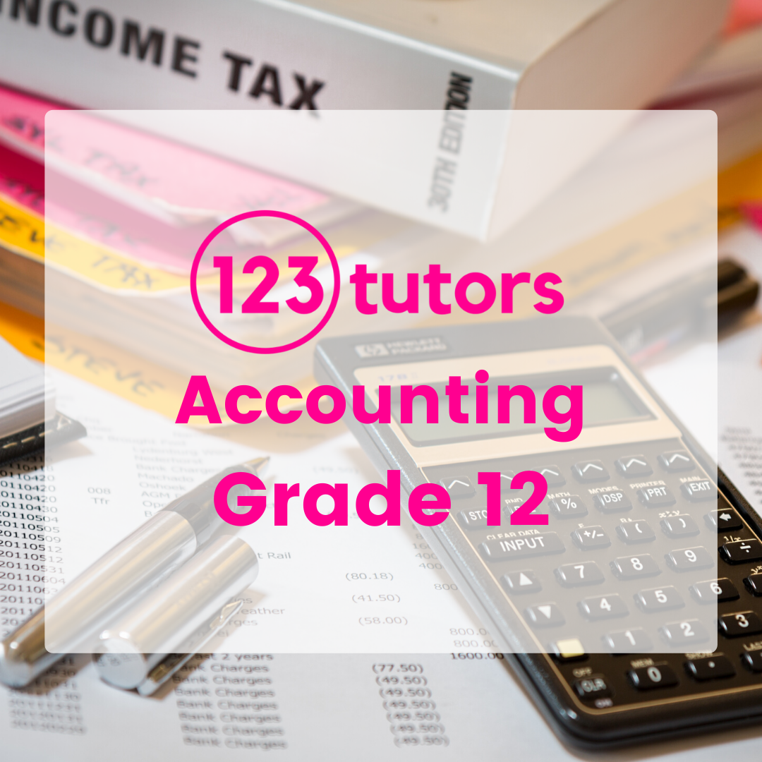 CAPS Grade 12 Accounting (Video Course)
