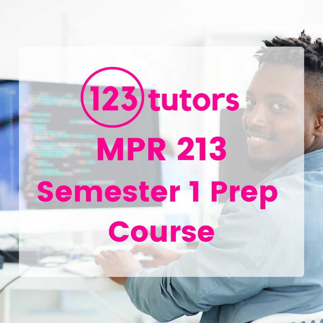 MPR 213 (ST1): Python Fundamentals