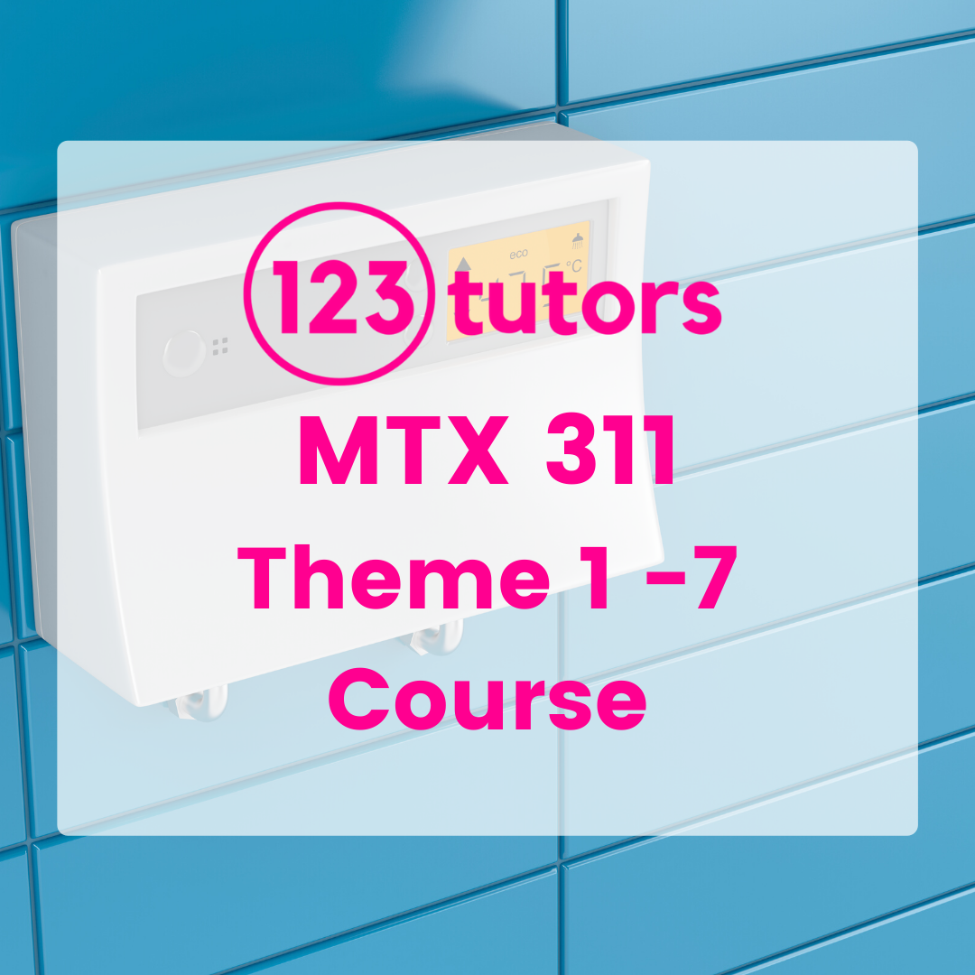 MTX 311: Thermodynamics 3