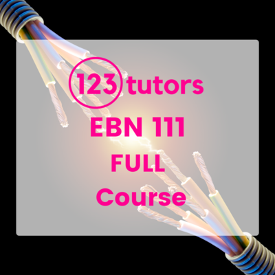 EBN 111: Electricity & Electronics for Engineers