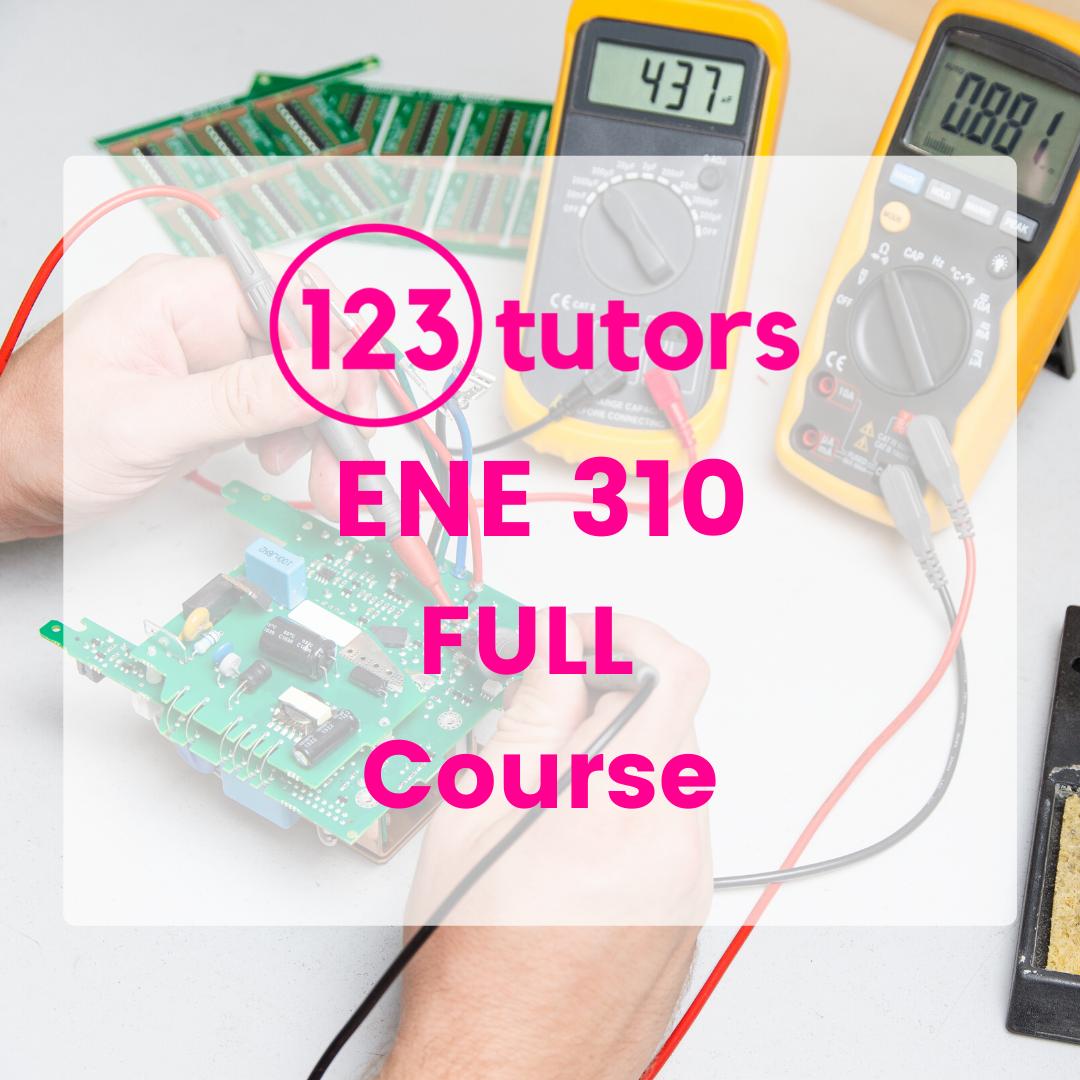 ENE 310: Analogue Electronics