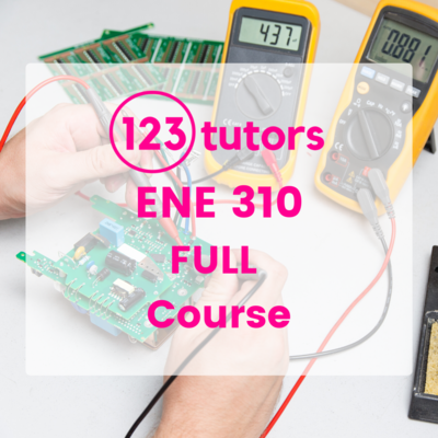 ENE 310: Analogue Electronics