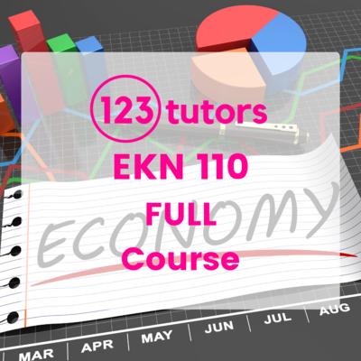 EKN 110: Economics