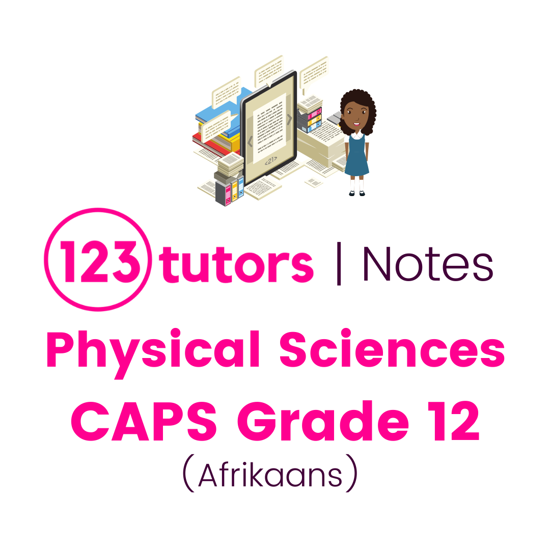 CAPS Physical Sciences Grade 12 (Afrikaans Notes)