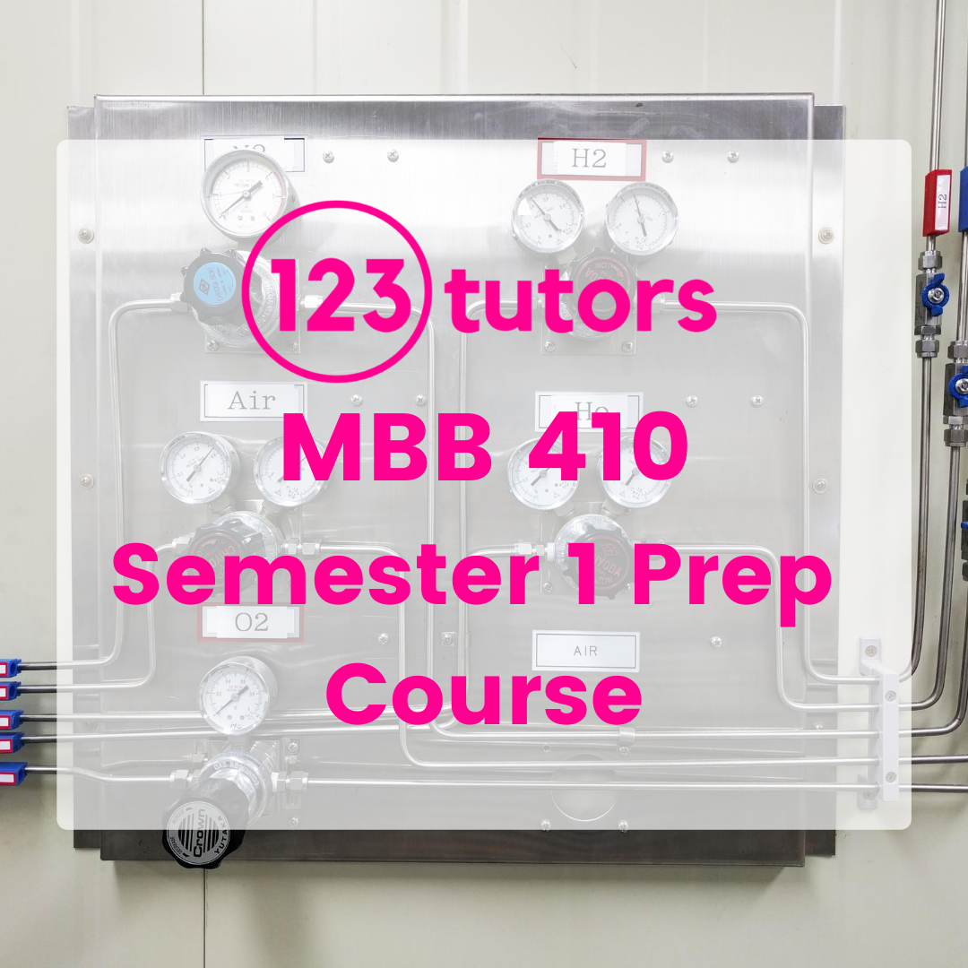 MBB 410: Control Systems - ST1