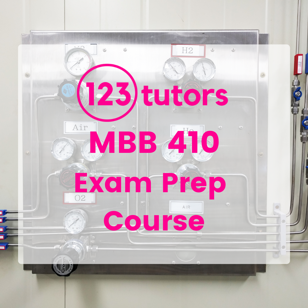 MBB 410: Control Systems - Exam Prep Course