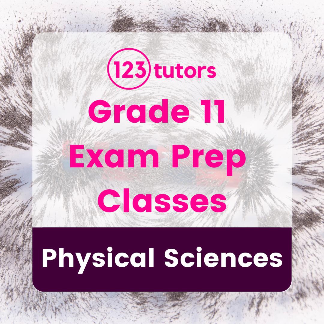 Grade 11 - Exam Prep Classes - Physical Sciences (16 Hours)